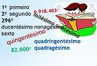 Atividades envolvendo números ordinais - Matemática - Ensino Fundamental - Educação