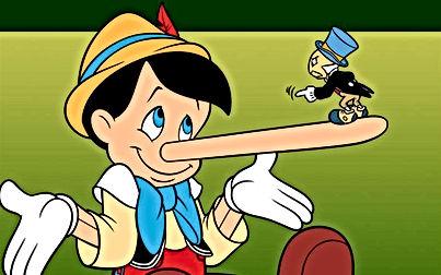 1º de Abril - Dia da Mentira - Imagem Pinocchio