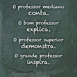 Mensagem Professor - Educação