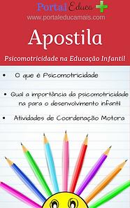 Apostila Psicomotricidade na Educação Infantil