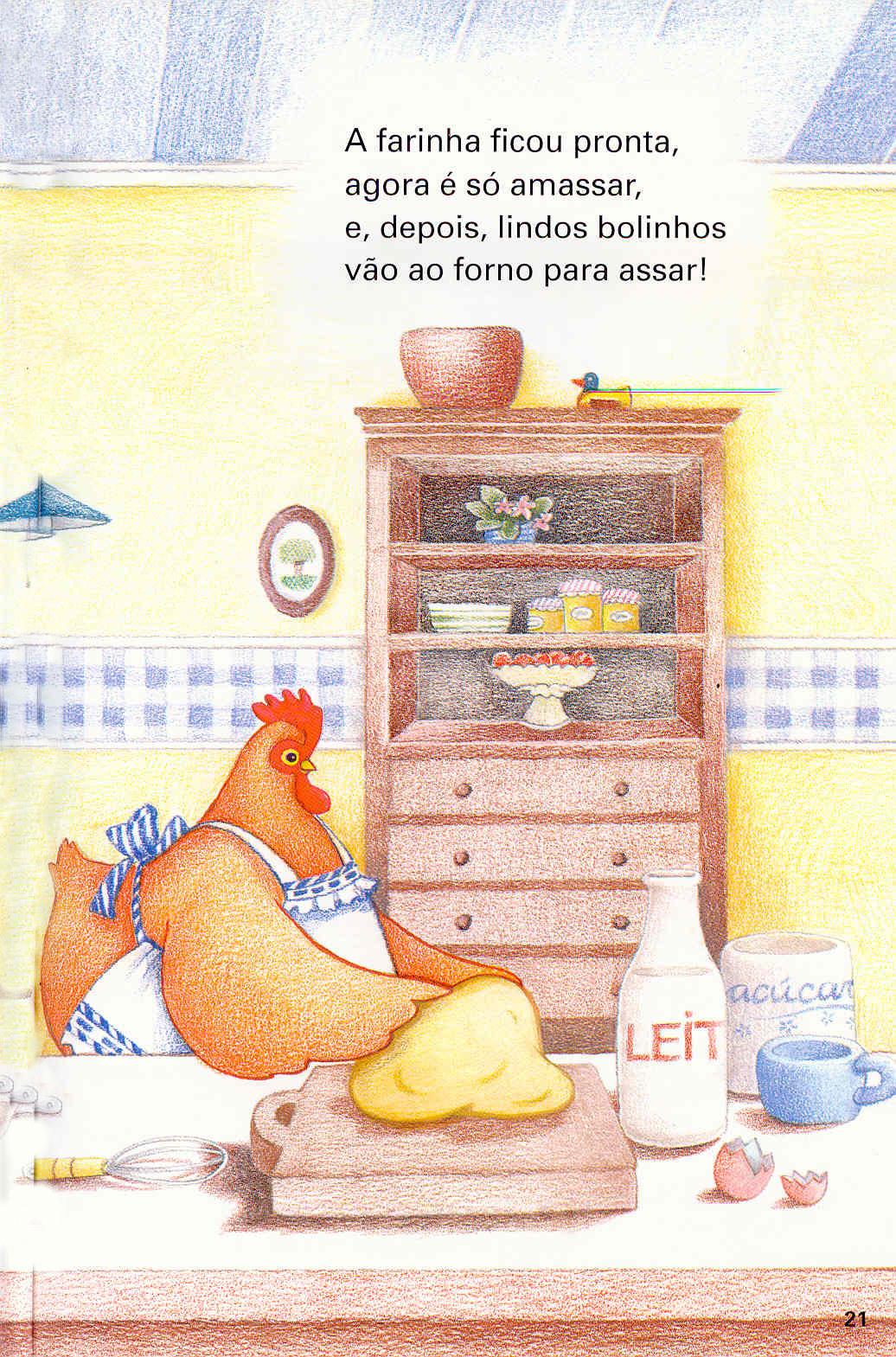 lIivro A galinha ruiva-17