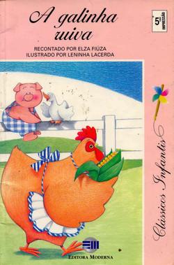 lIivro A galinha ruiva-capa