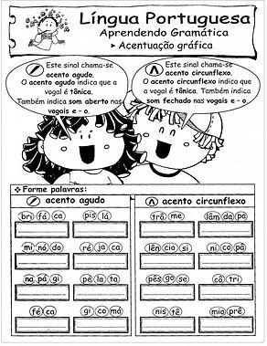 ORTOGRAFIA ACENTUAÇÃO GRÁFICA- PORTAL EDUCA