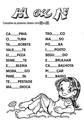 ORTOGRAFIA M OU N - PORTAL EDUCA