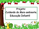 Projeto Cuidando do Meio Ambiente