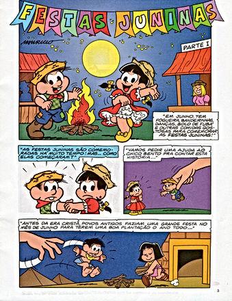 História em Quadrinhos - Festa Junina - Sequência Didática
