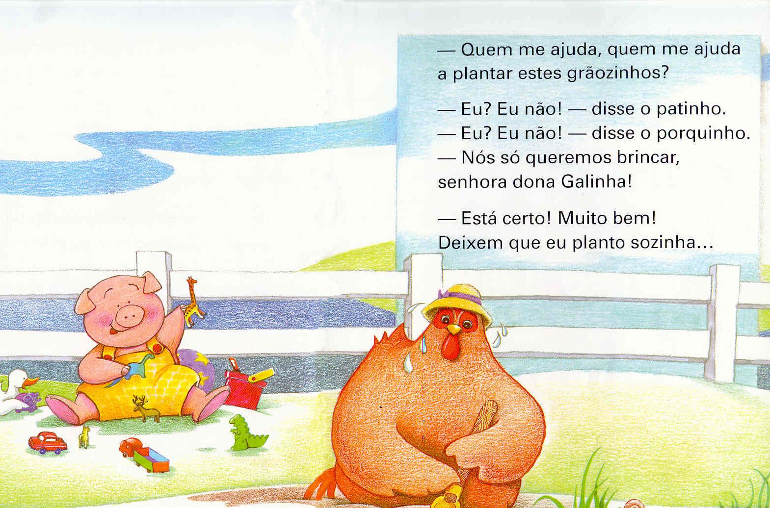 lIivro A galinha ruiva-5