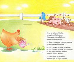 lIivro A galinha ruiva-6 -7