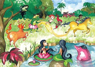 Atividades escolres - Folclore Brasileiro - Ensino Fundamental