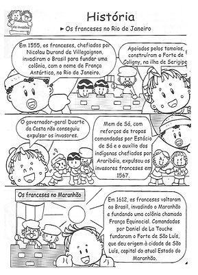 Atividades escolares - História - 5º ano - png