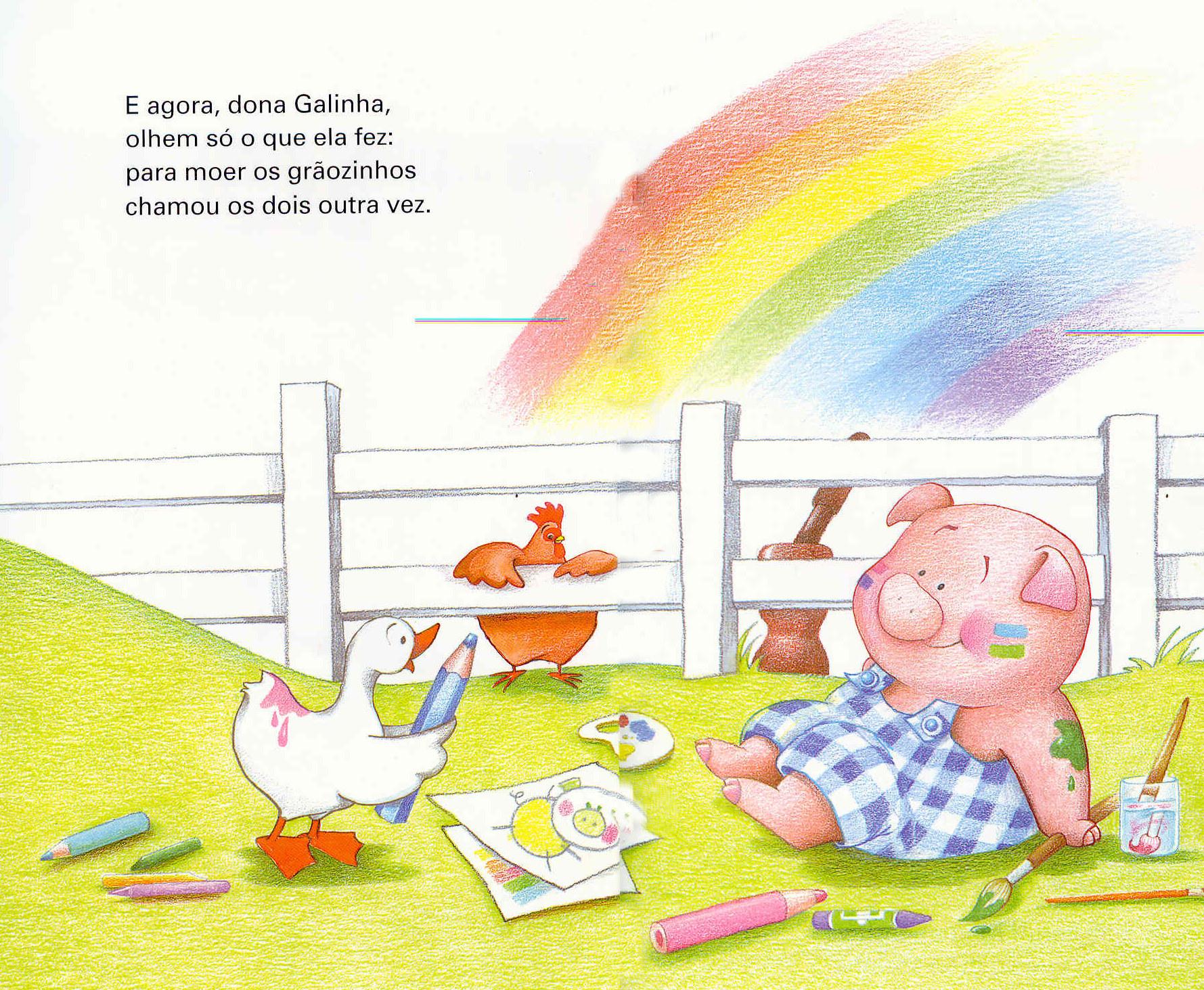lIivro A galinha ruiva-13-14