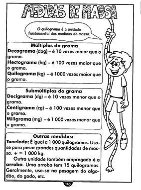 Atividades Escolares - Sistema de medidas