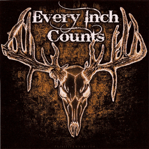 Every Inch Counts Sticker