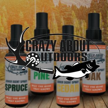 Crazy About Outdoors Cover Scents