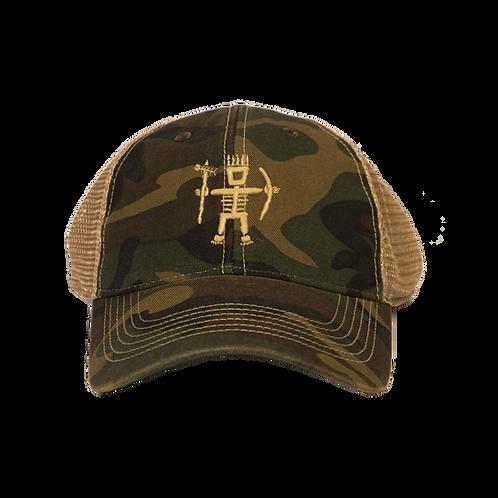 Primitive Wear Trucker Hat (Camo)