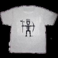 Men's Primitive Wear Logo Tee (Gray)
