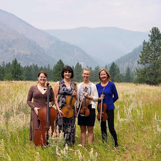 String quartet at White Raven