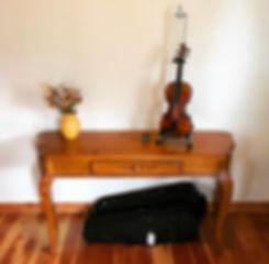 violin studio in Montana