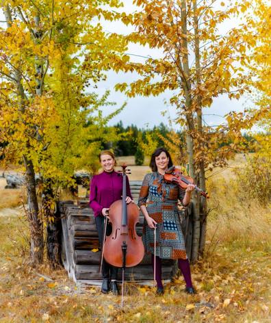 Jessica & Amelia in autumn