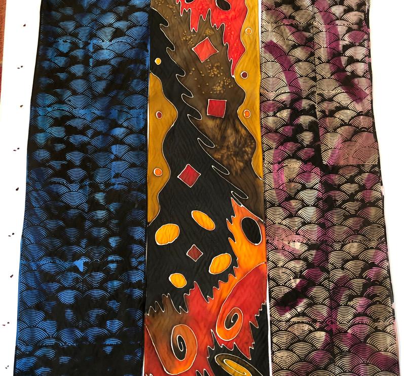 Assorted Habotai Scarves