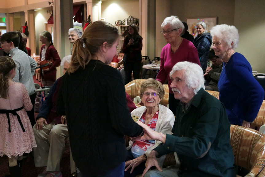 Ellery with residents smile Xmas 2019.jp