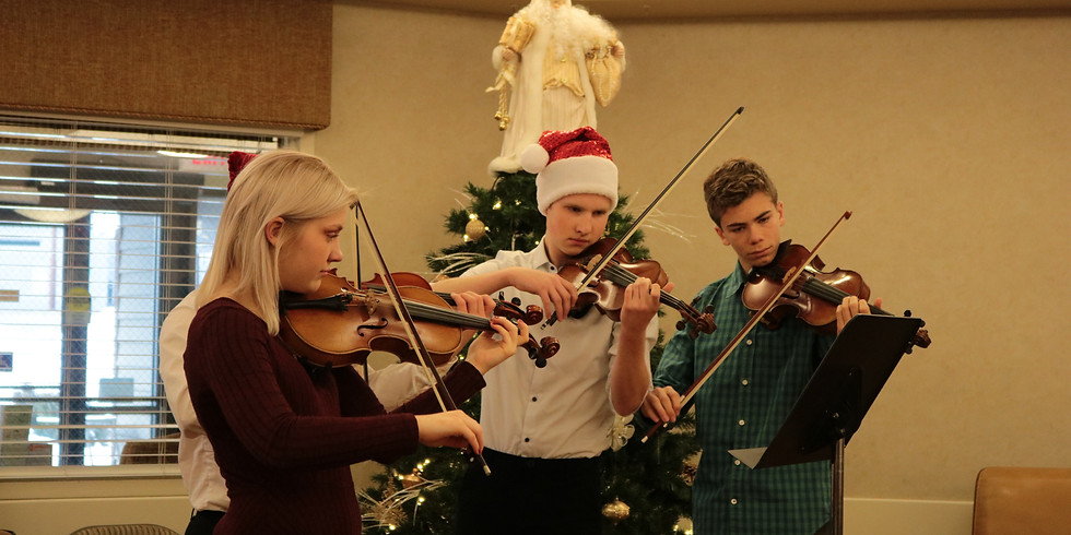 Studio Performance! Holiday Outreach Concert