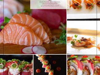 Sushi Restaurant Business Brand Photography   Folsom, El Dorado Hills, Sacramento