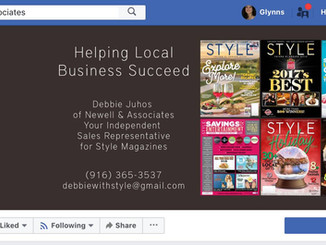 Facebook Business Page Cover Art | El Dorado Hills, Folsom, Sacramento