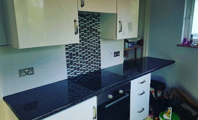 Job - Tile Kitchen Workspace (Inc Mosaic