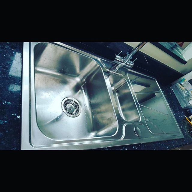 AFTER _ New stainless steel sink custome
