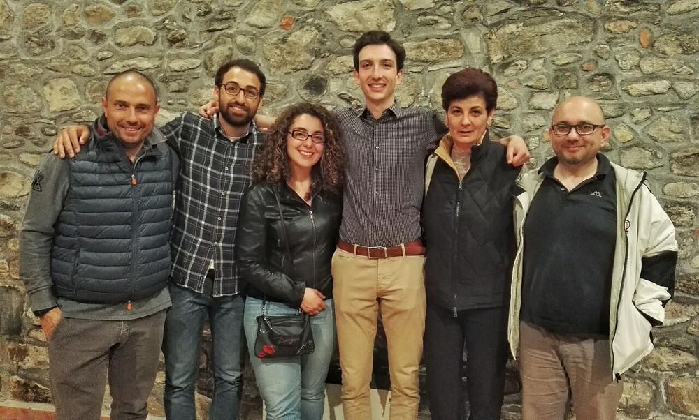 Il nuovo Comitato direttivo; da sinistra: Enrico, Stefano, Federica, Nicolò, Angela e Massimiliano (assente Maria Antonietta).