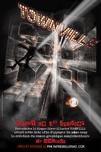 """Mathieu Bellemare, Dr Molotov, Townville """"Dr Molotov"""" de Mathieu Bellemare, illustrateur"""