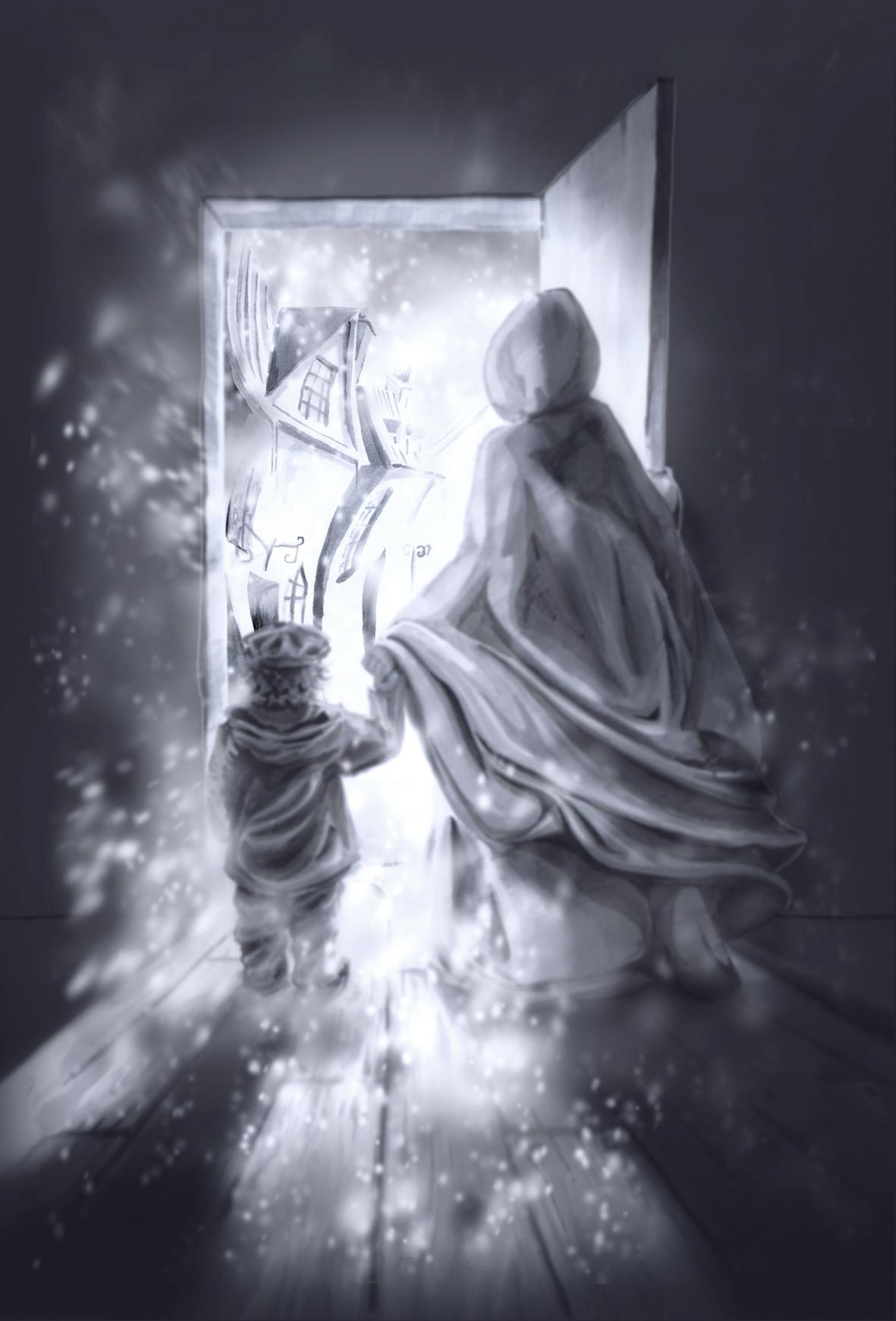 La Porte enneigée