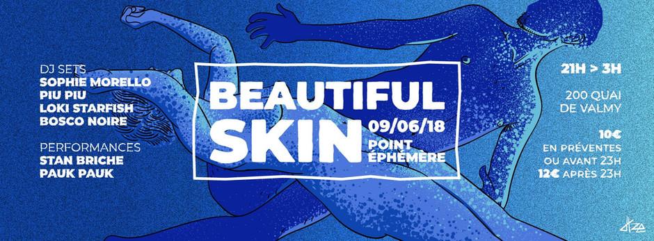 """Beautiful Skin"" une soirée clubbing naturiste au programme de la #FAVNU2018"