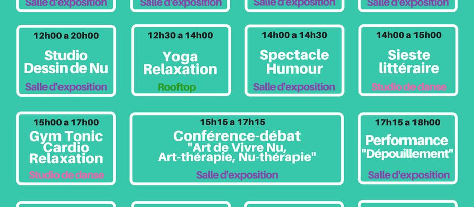 Programme et plan de la #FAVNU2018