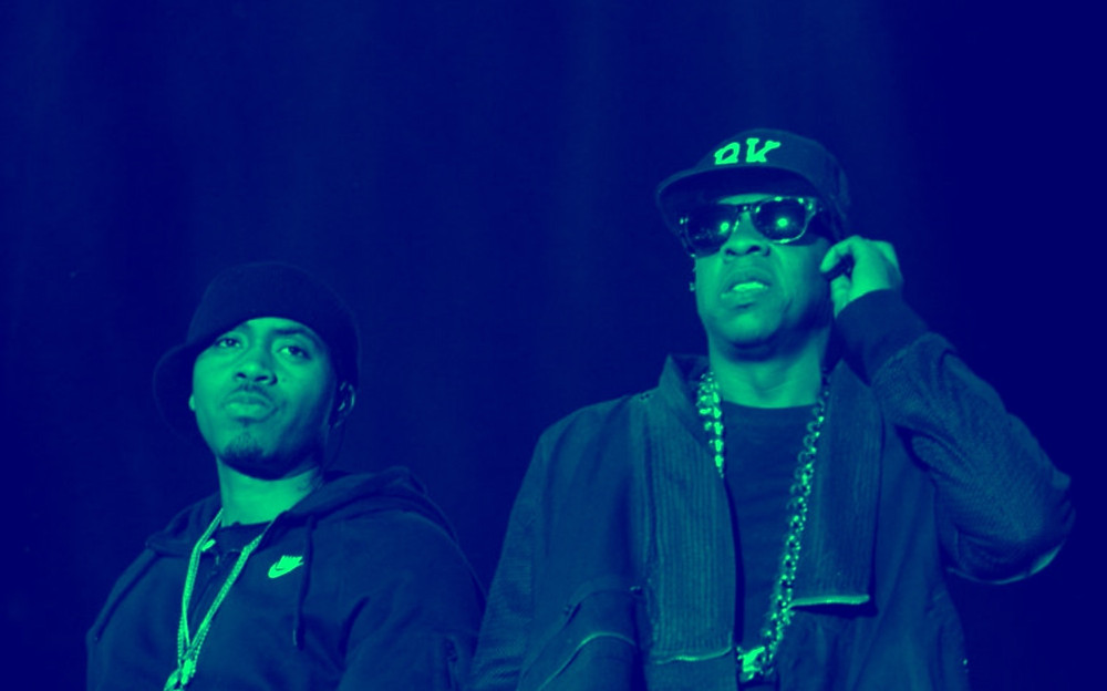 Nas and Jay Z perform together - end beef.