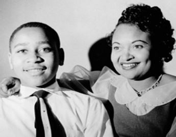 emmett til with his mother mamie women of the movement