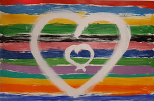 Le coeur plein d'amour