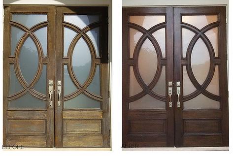Double+Wood+Door+Refinish+Jacksonville.j