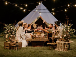 Beneath the Canopy - Luxury Bell Tent Hire