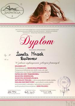 laserowe-love-raciborz-zaneta-mruzek-certyfikaty-kosmetyczka