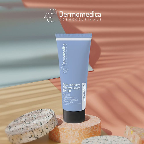 Face and Body Mineral Cream SPF 30