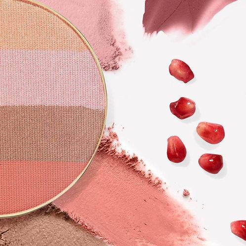 Peaches & Cream- brązer, róż, cień do powiek