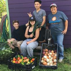 Briarpatch kids with vegs.JPG