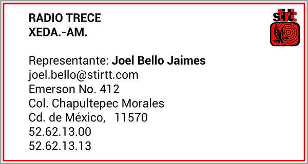 Radio Trece Joel Bello.jpg