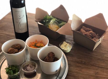 LAPAZ LUNCH BOXとLAPAZのお惣菜&ジョージアワインテイクアウトのご案内