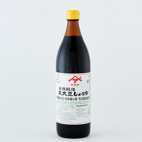SOY SAUCE 【松合食品 天然醸造丸大豆しょうゆ 900ml】