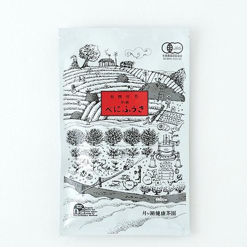 TSUKIGASE BLACK TEA 【月ヶ瀬健康茶園 有機栽培「べにふうき紅茶」】 60g