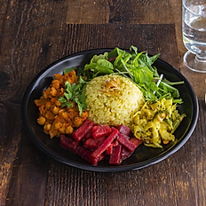 South Indian Curry Plate