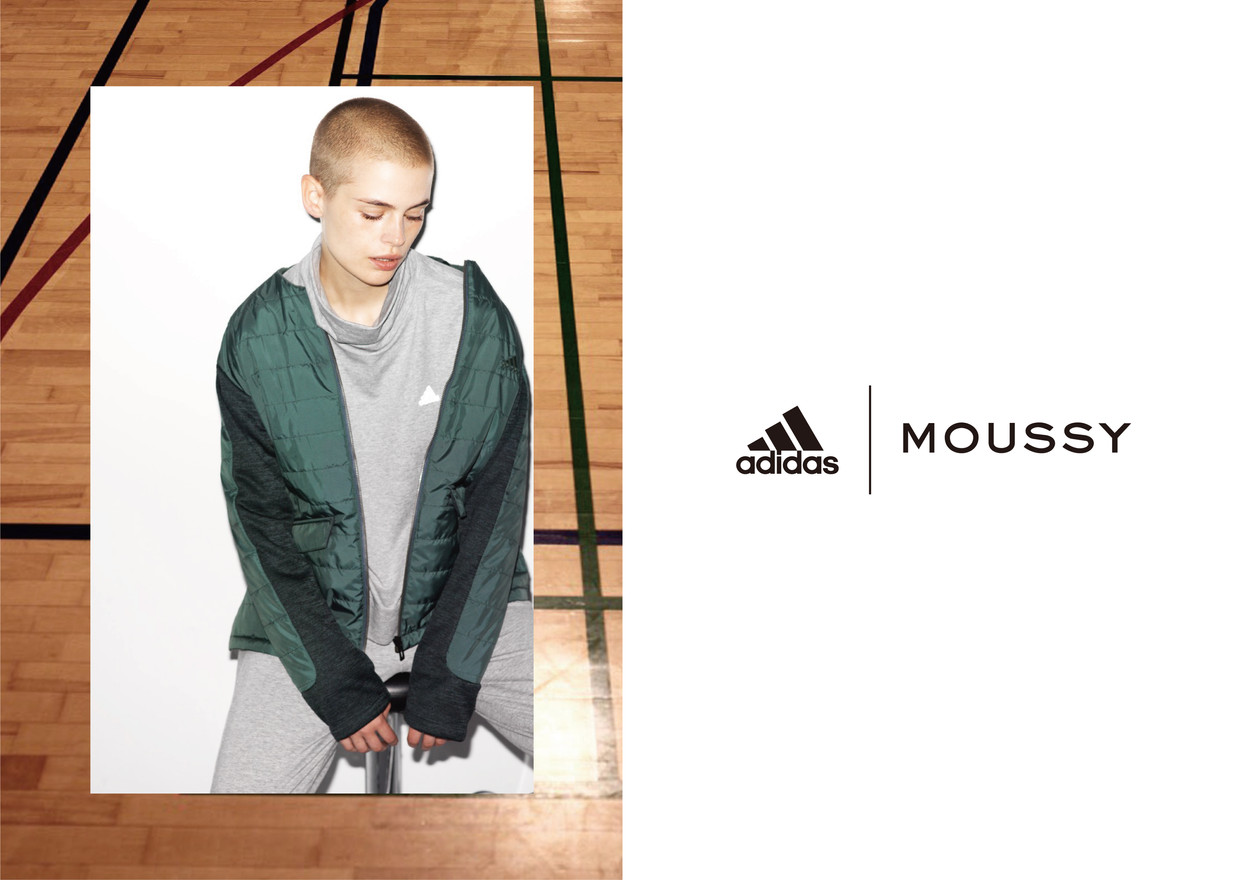 adidas x MOUSSY 2018ss